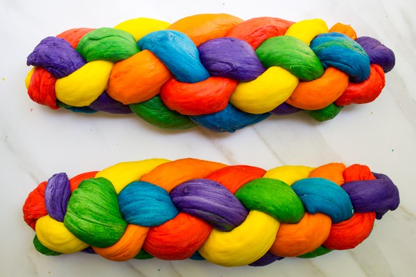 Rainbow-Challah